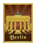 Berlin, Allemagne Posters par  Anderson Design Group