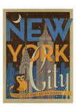 New York City: The City That Never Sleeps Prints by  Anderson Design Group