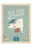 New York: The Empire State Prints by  Anderson Design Group