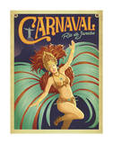 Carnaval Rio de Janeiro Poster par  Anderson Design Group