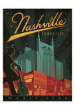 Nashville, Tennessee Prints by  Anderson Design Group