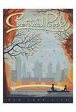 Central Park: New York City Plakater af Anderson Design Group