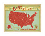 Explore America: From Sea To Shining Sea Prints by  Anderson Design Group