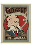 Old Gent Pipe Tobacco Prints by  Anderson Design Group