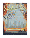 Central Park: New York City Poster by  Anderson Design Group