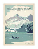 Glacier Bay National Park, Alaska Print by  Anderson Design Group