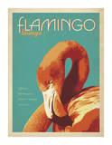 Flamingo Lounge Plakat af Anderson Design Group
