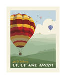 Hot Air Balloons Posters by  Anderson Design Group