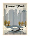 Nueva York, Central Park Póster por Anderson Design Group