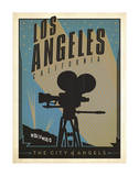 Los Angeles, California: The City of Angels Prints by  Anderson Design Group