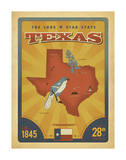 Texas: The Lone Star State Prints by  Anderson Design Group