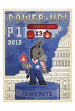 Power-Up! (Donkey) Prints by  Anderson Design Group