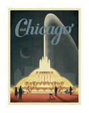 Visit Chicago Affiches par  Anderson Design Group