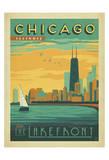 Chicago, Illinois: Enjoy The Lakefront Kunst von  Anderson Design Group