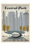 New York Central Park Plakat af Anderson Design Group