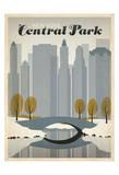 Anderson Design Group - New York Central Park Umělecké plakáty