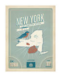 New York: The Empire State Poster by  Anderson Design Group