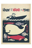 Havin' A Whale Of A Time! Affiches par  Anderson Design Group
