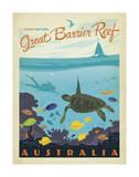 Great Barrier Reef, Australia Plakater af Anderson Design Group