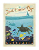 Great Barrier Reef, Australia Láminas por  Anderson Design Group