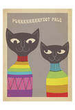 Rainbow Cats Posters by  Anderson Design Group