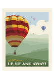 Hot Air Balloons Art by  Anderson Design Group