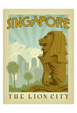 Singapore: The Lion City Prints by  Anderson Design Group