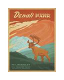 Parque nacional Denali Lámina giclée por Anderson Design Group
