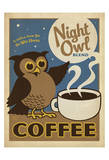 Night Owl Blend Coffee Affiches par  Anderson Design Group
