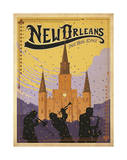New Orleans: The Big Easy Posters by  Anderson Design Group