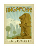 Singapore: The Lion City Plakaty autor Anderson Design Group