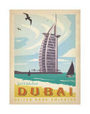 Dubai: United Arab Emirates Posters by  Anderson Design Group