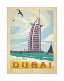 Dubai: United Arab Emirates Posters av  Anderson Design Group