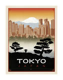 Tokyo, Japan Posters by  Anderson Design Group
