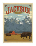 Jackson, Wyoming Kunst von  Anderson Design Group