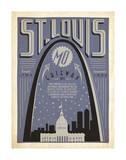 St. Louis, Missouri: Gateway City Art by  Anderson Design Group