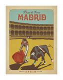 Madrid, Espagne Affiches par  Anderson Design Group