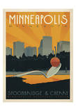 Minneapolis, Minnesota: Spoonbridge & Cherry Prints by  Anderson Design Group