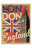 London, England (Flag) Prints by  Anderson Design Group
