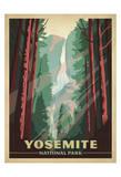Parque Nacional de Yosemite Arte por  Anderson Design Group