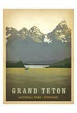 Anderson Design Group - Grand Teton National Park, Wyoming - Art Print