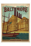 Baltimore, Maryland Print by  Anderson Design Group