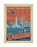 Dallas, Texas: Visit The Big D Prints by  Anderson Design Group