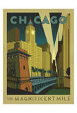 Chicago: The Magnificent Mile Prints by  Anderson Design Group