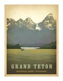 Grand Teton National Park, Wyoming Obra de arte por Anderson Design Group