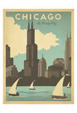 Chicago: The Windy City Prints by  Anderson Design Group