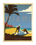 Miami, Florida Art by John Golden
