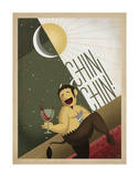 Chin Chin! Prints by  Anderson Design Group