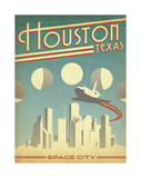 Houston, Texas: Space City Prints by  Anderson Design Group