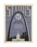 St. Louis, Missouri: Gateway City Prints by  Anderson Design Group